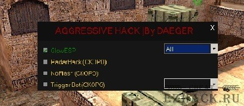 Aggresive Hack by DAEGER